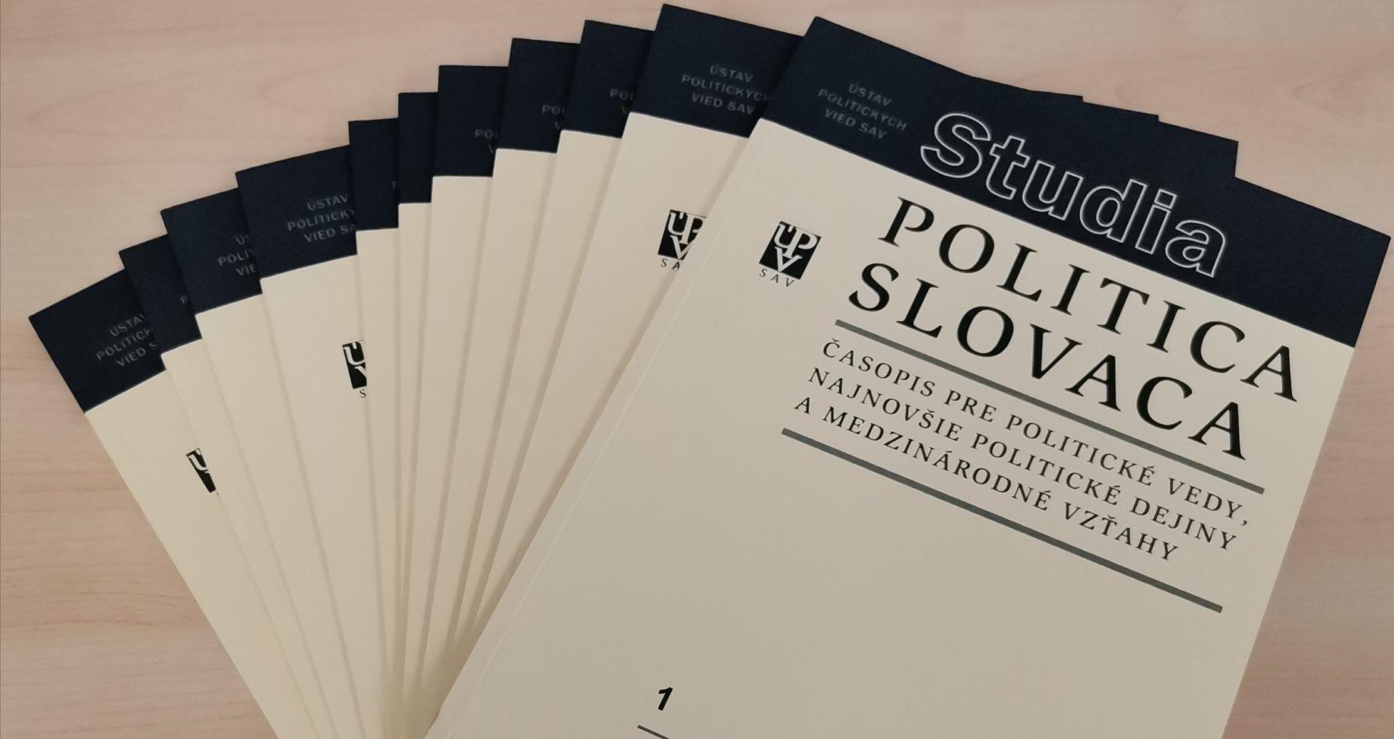 Studia Politica Slovaca